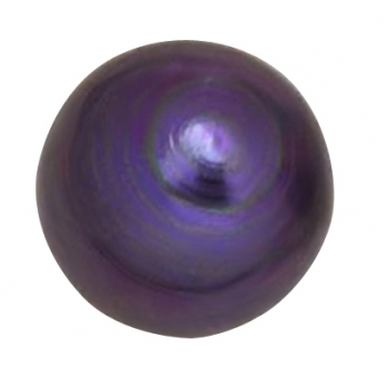 TITANIUM PURPLE 3MM BALL ANODIZED